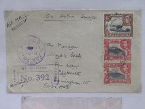 George VI Flight Cover