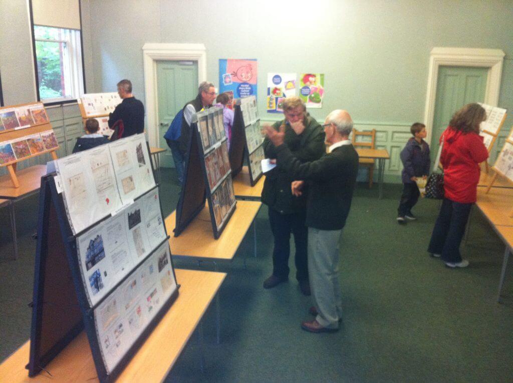 Weaver Hall Museum Exhibition October 2013