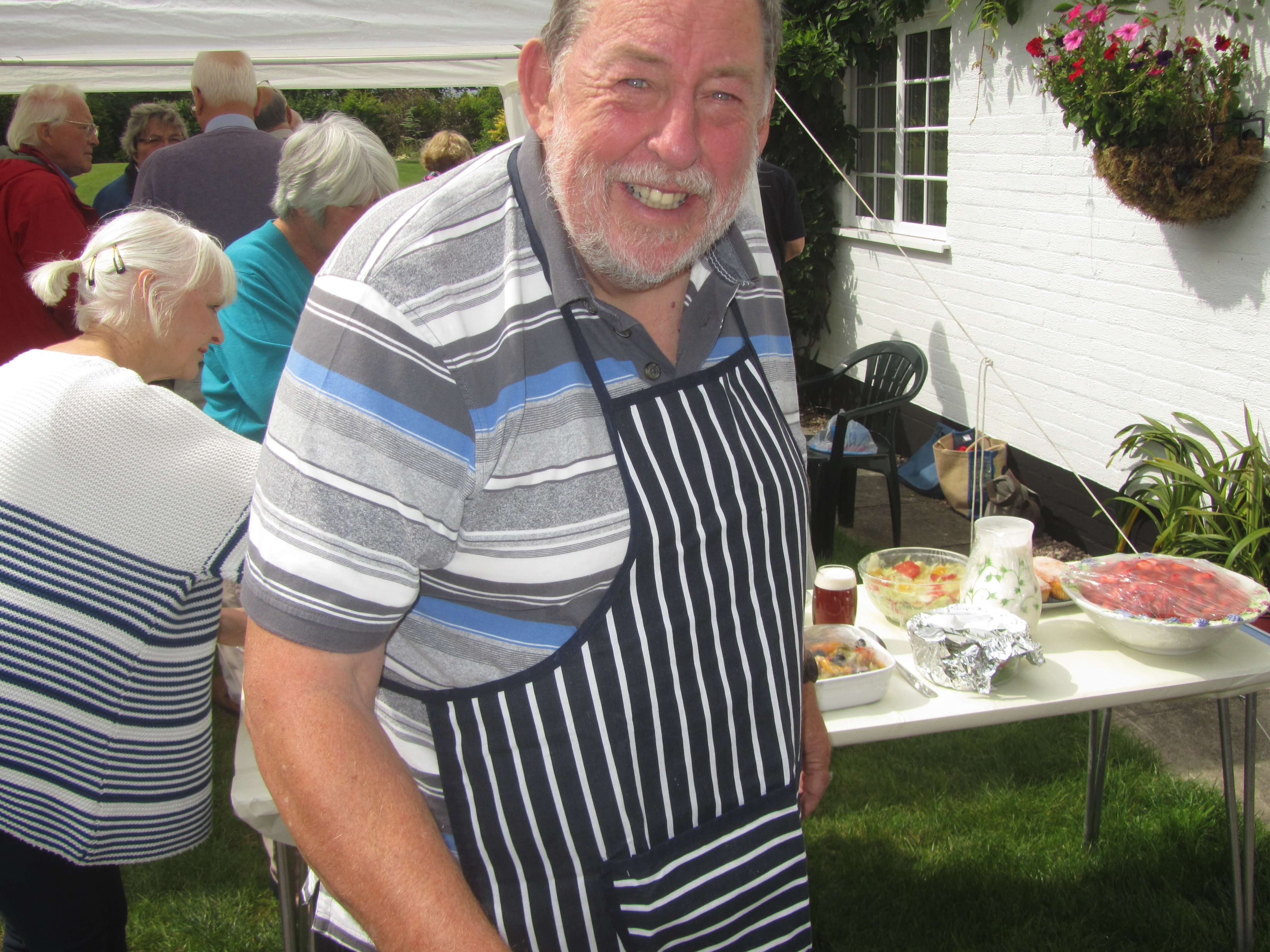 Northwich Philatelic Society Summer Barbecue 2014