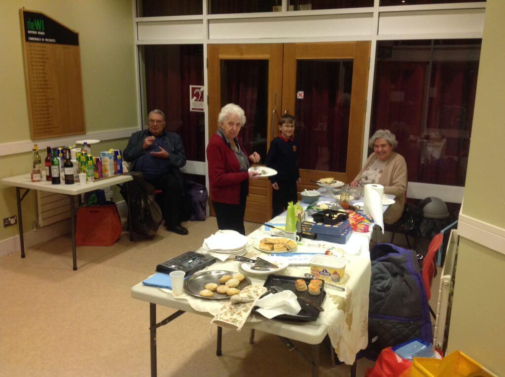 Northwich Philatelic Society New Year Party