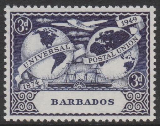 Barbados SG268