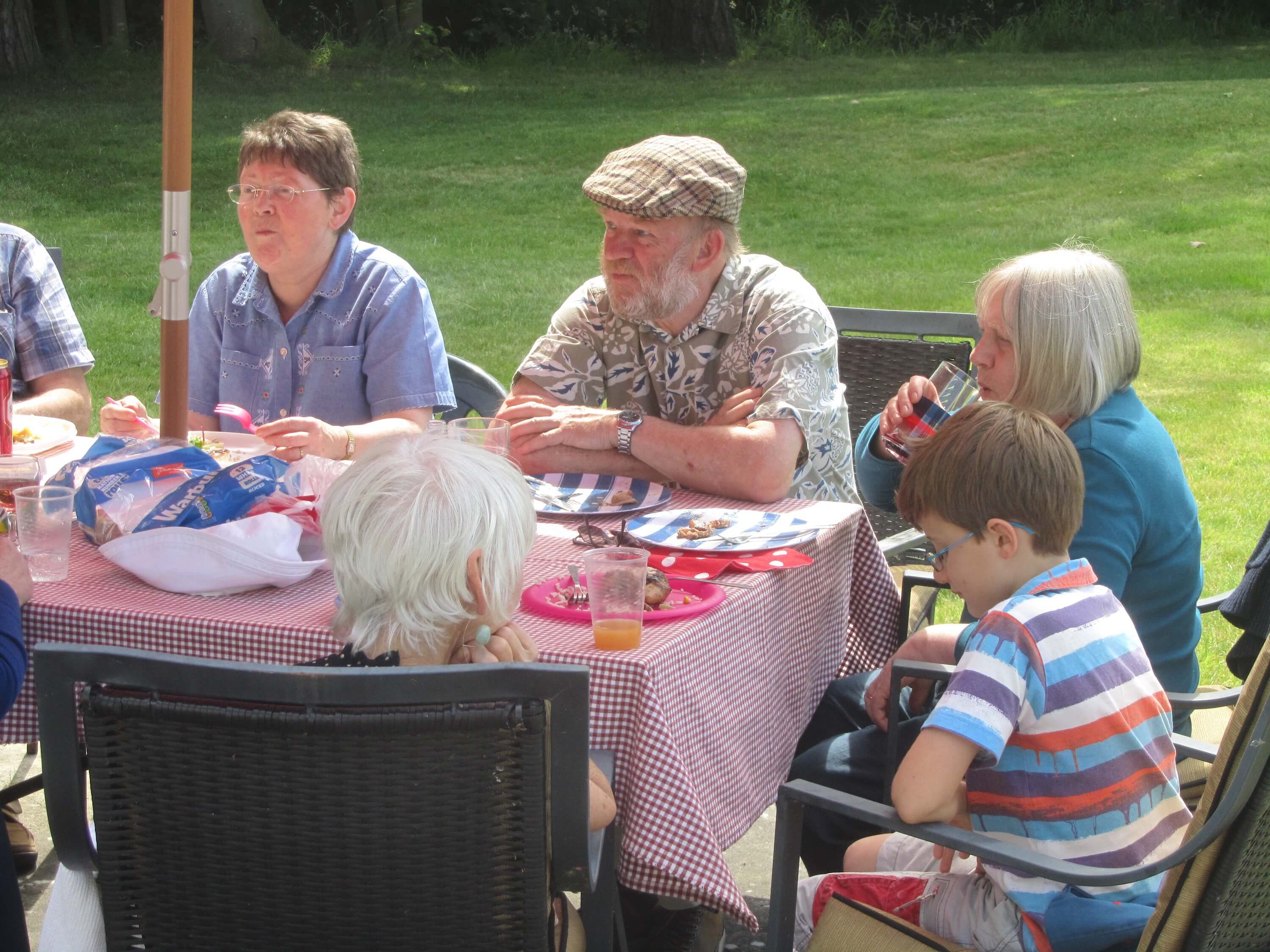 Northwich Philatelic Society Summer Barbecue 2015
