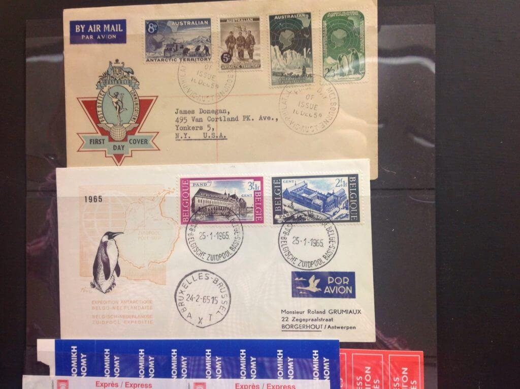 Airmail Etiquettes