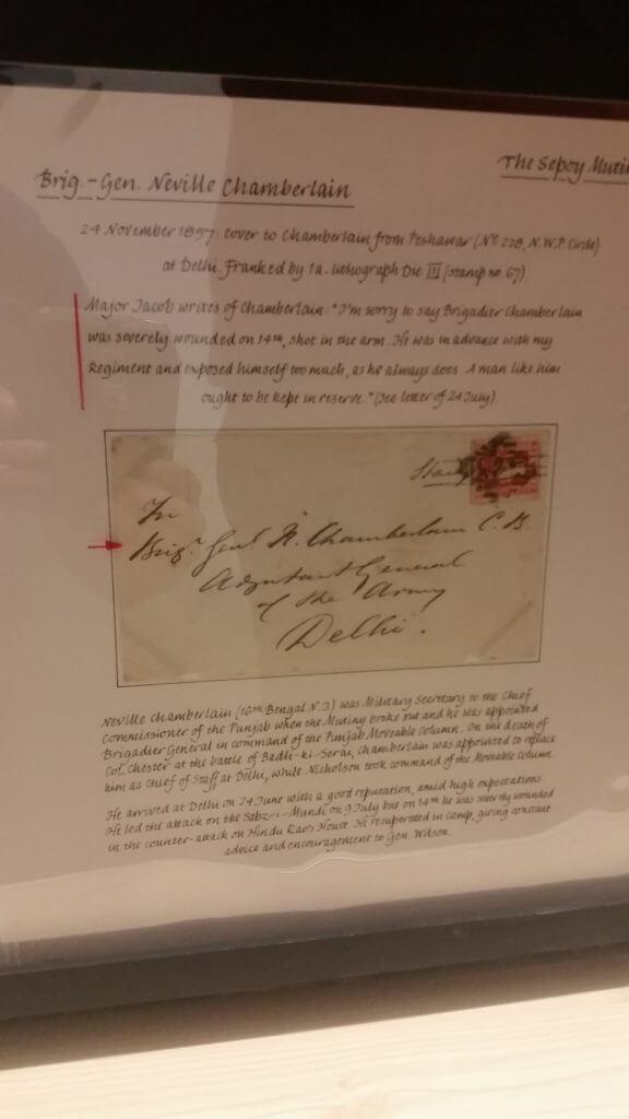 The Indian Mutiny - Northwich Philatelic Society