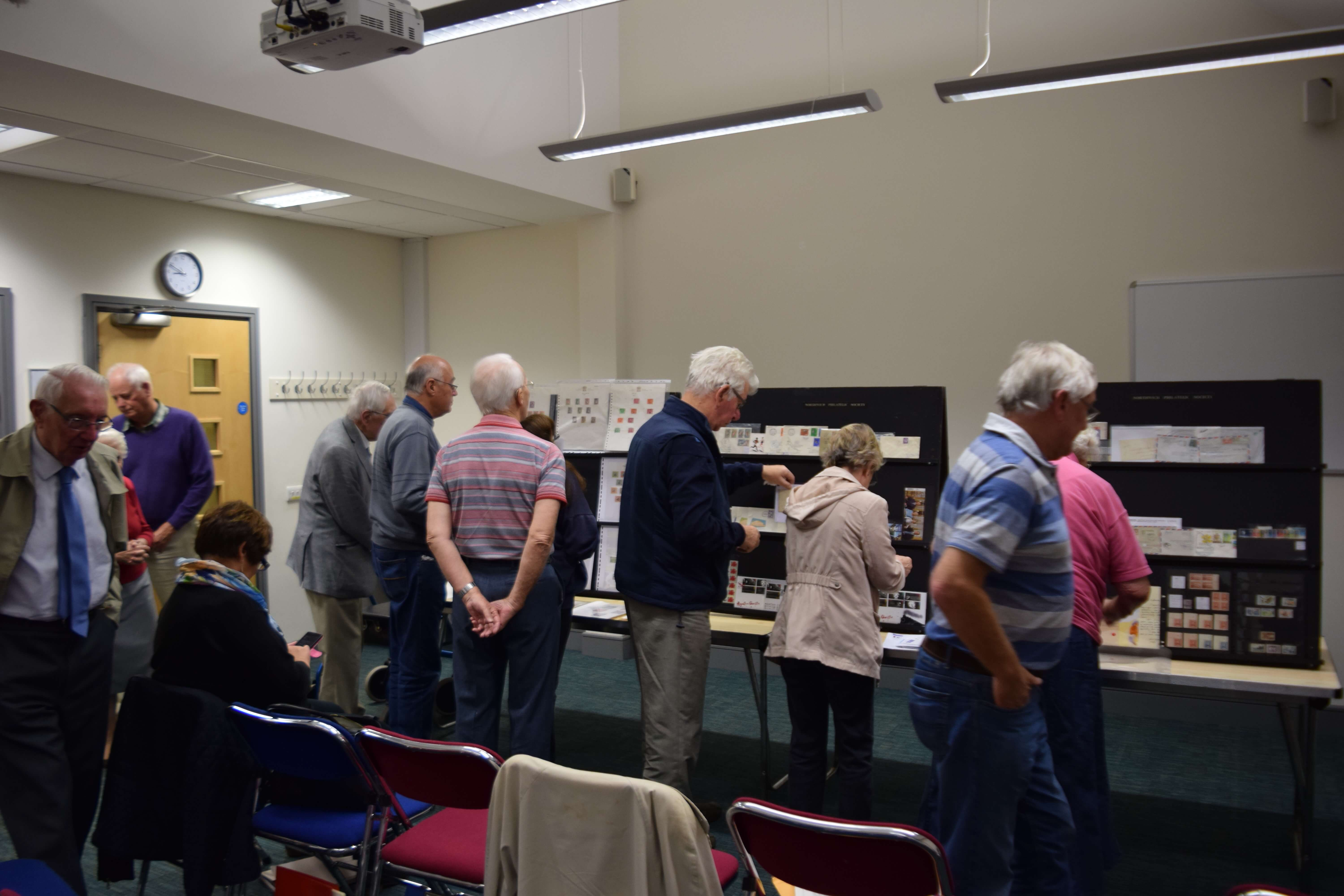 Members Night - Northwich Philatelic Society