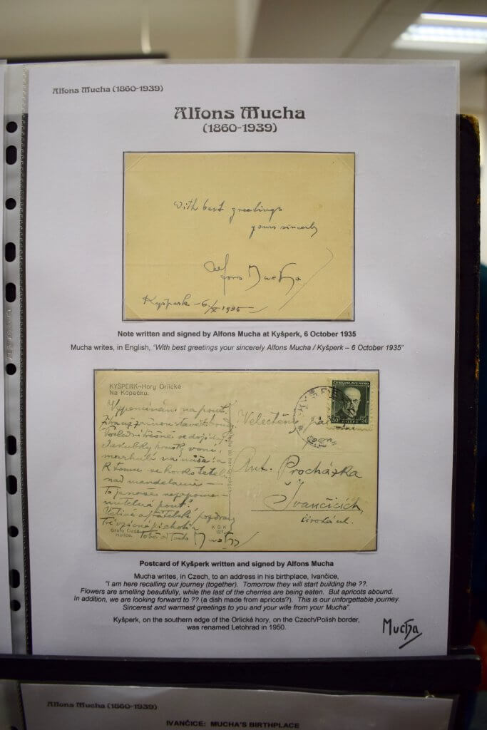 Alfons Mucha and the Tatra Mountains - Northwich Philatelic Society