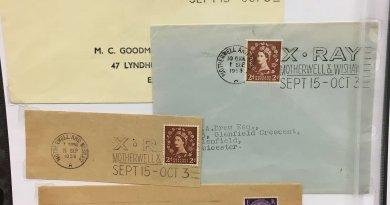 Postal Consumption - Northwich Philatelic Society