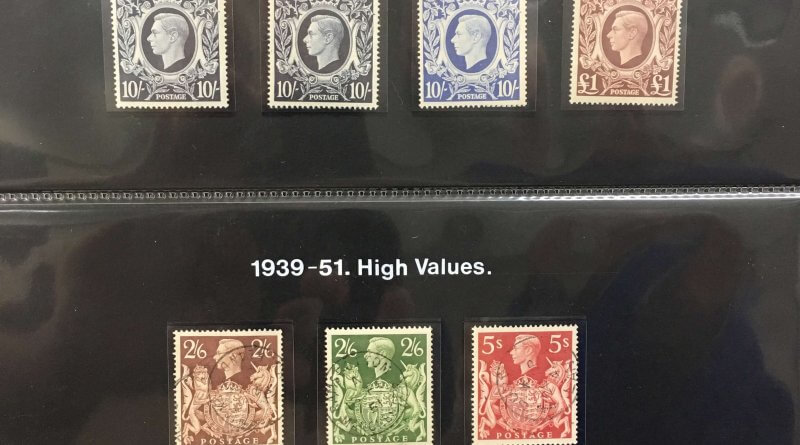 GB King George VI High Values Arms Issue 1939-1951 - Northwich Philatelic Society