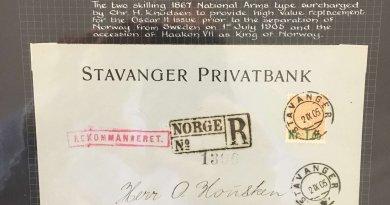 The Philately of Norway - Northwich Philatelic Society