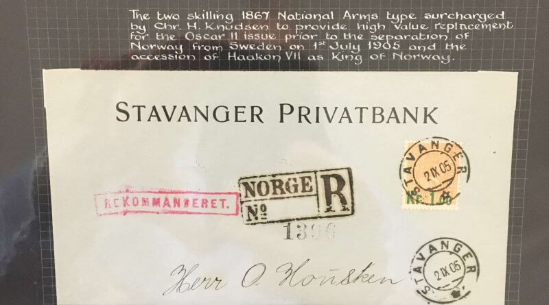 The Philately of Norway - Northwich Philatelic Society