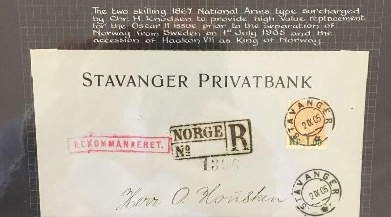 Norwegian philately in four parts