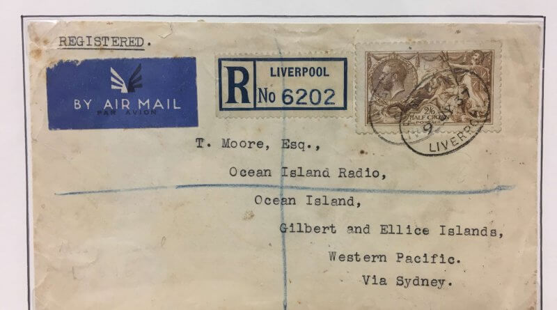 Mike Kentzer's Seahorse Covers - Northwich Philatelic Society