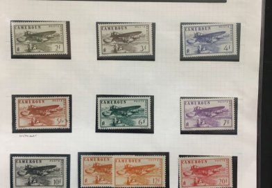 Northwich Philatelic Society - 3 Sheets November 2019