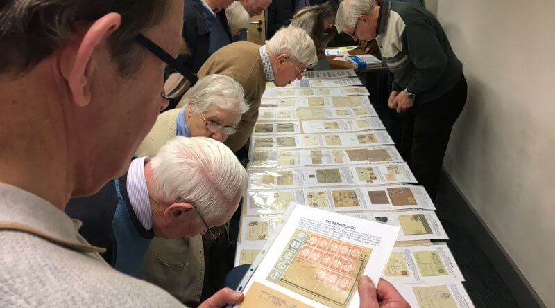 Northwich Philatelic Society - Visit from Crewe PS February 2020