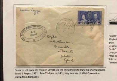 Pacific Steam Navigation Company - Northwich Philatelic Society