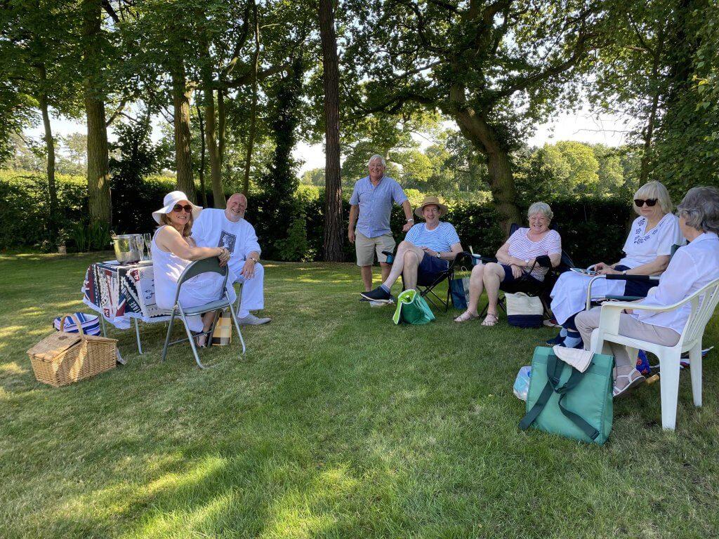 Northwich Philatelic Society Summer BBQ August 2021